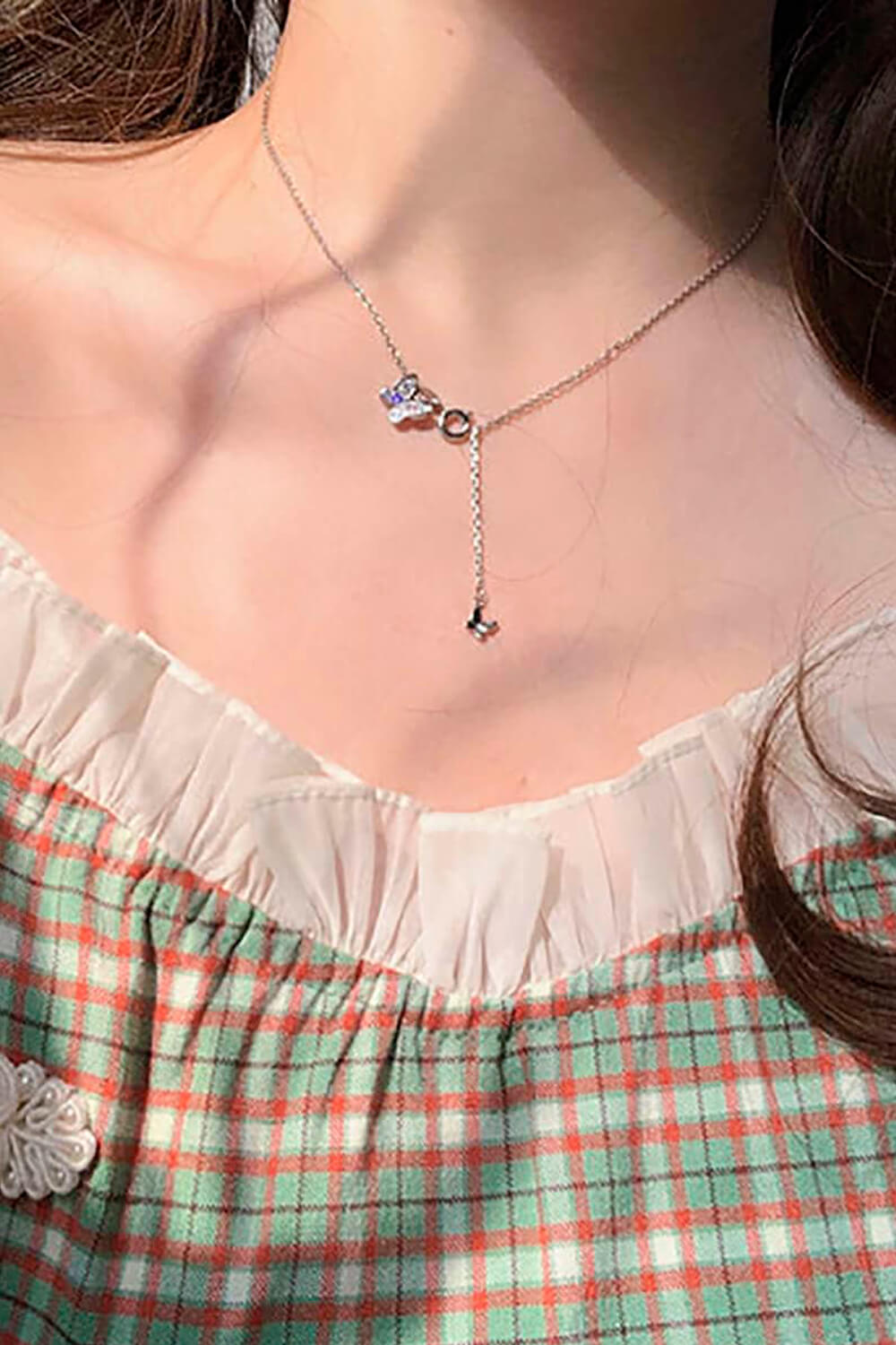 Fairycore Small Butterfly Necklace
