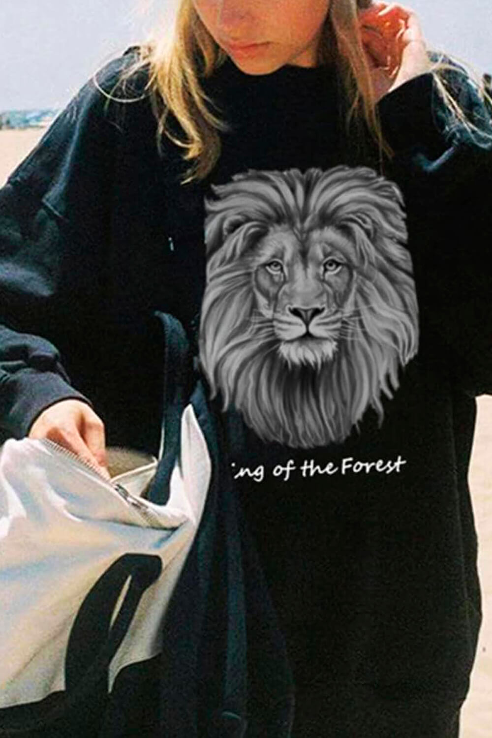Lion King of the Forest Sweatshirt