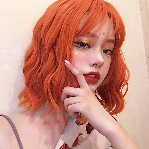 Red Ginger Grunge Aesthetic Wig
