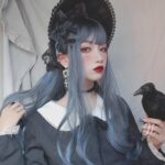 Witch Ash Gray Witchcore Wig