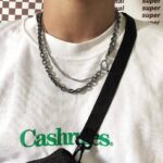 Alt Girl Aesthetic Double Chain Necklace