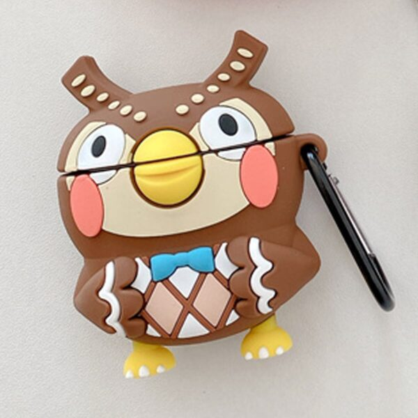 Animal Crossing Figure Blathers Owl Airpods Case