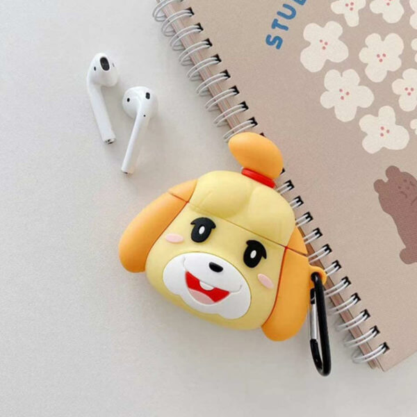 Animal Crossing Isabelle Cute Airpods Case