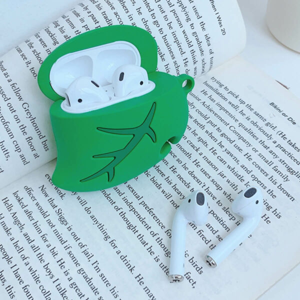 Animal Crossing Nook Leaf Airpods Case