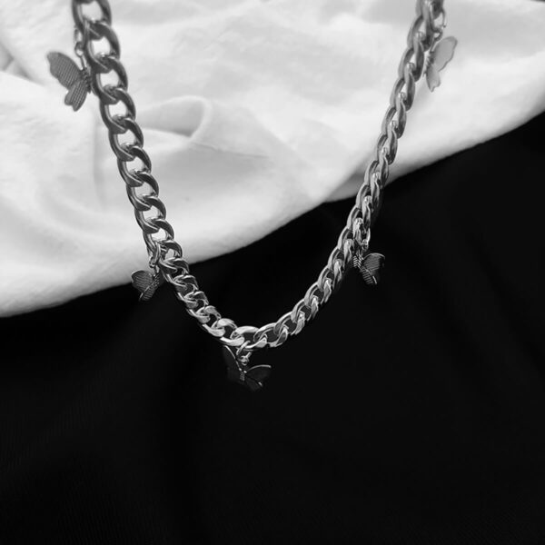 Butterfly Grunge Aesthetic Chain Necklace