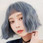 Cold Gray Realistic Art Hoe Wig