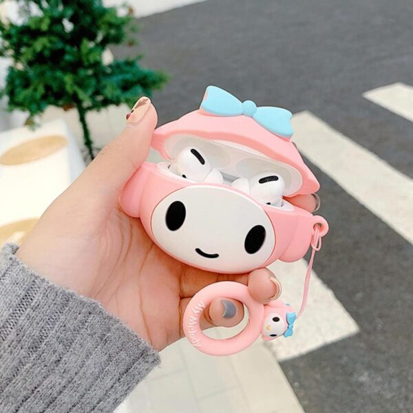 My Melody Blue Bow Airpods Case Sanrio