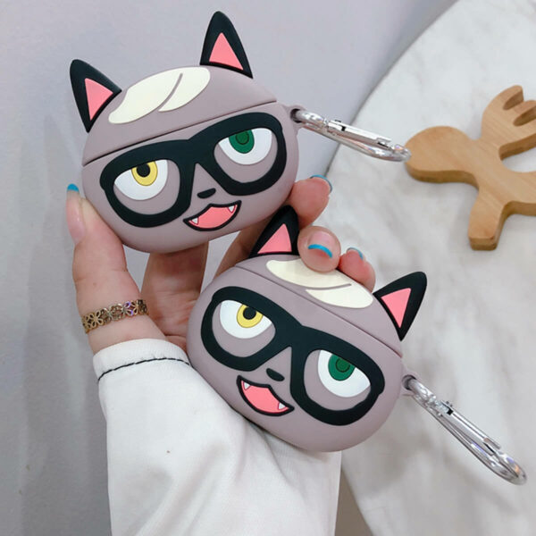 Raymond Cat Villager Animal Crossing Airpods Case