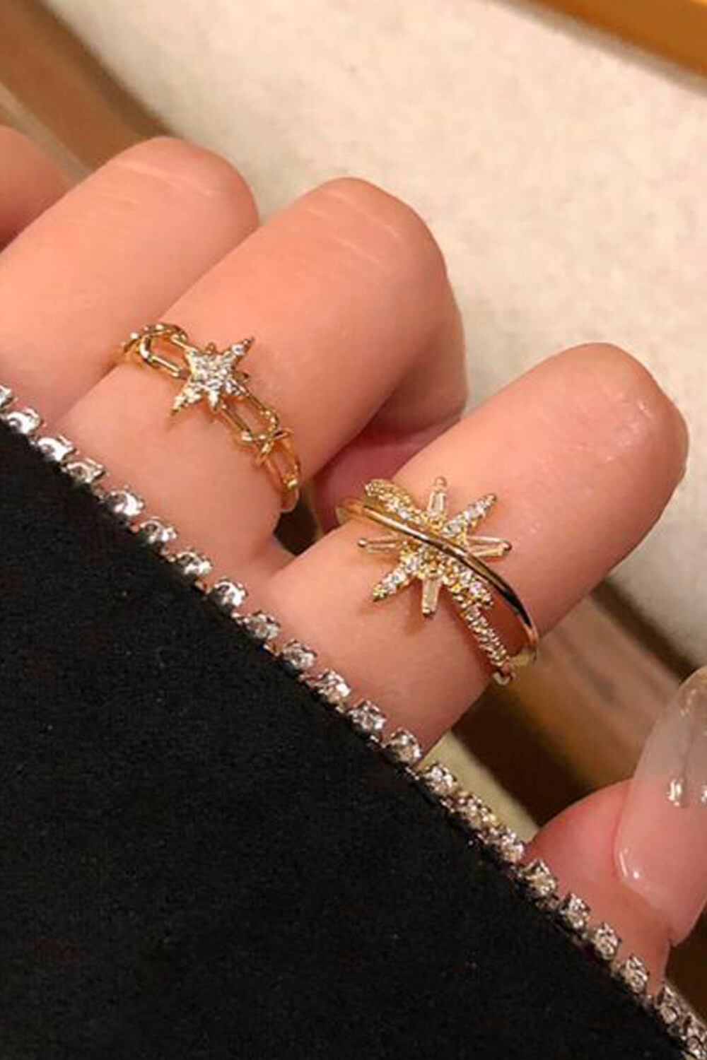 Star Princess Spacecore Aesthetic Ring