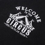 Welcome to the Circus Art Hoe Hoodie