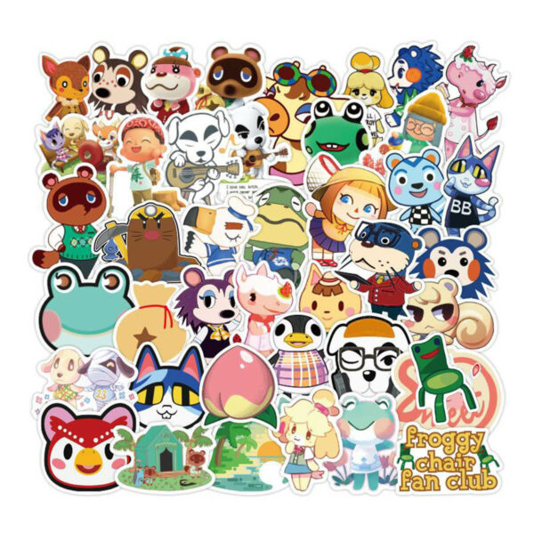 100 Animal Crossing Stickers and Decals