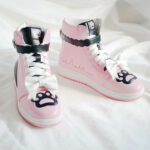 Cat Paw Aesthetic Sneakers High Ankle