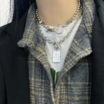Double Layered Grace Grunge Necklace