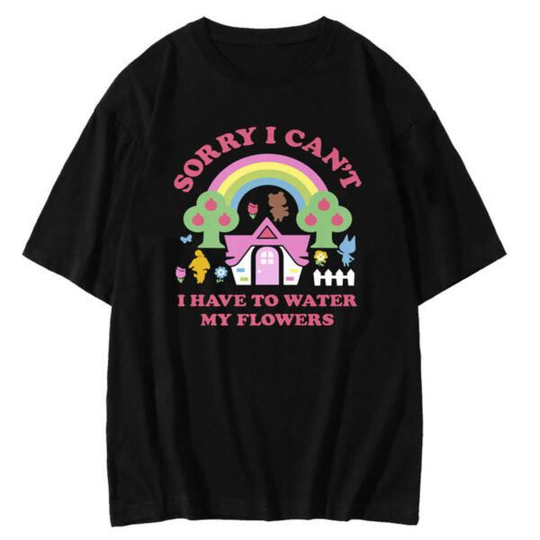 I Have To Water My Flowers ACNH T-Shirt