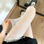 Lace Floral Babygirl Aesthetic Pantyhose