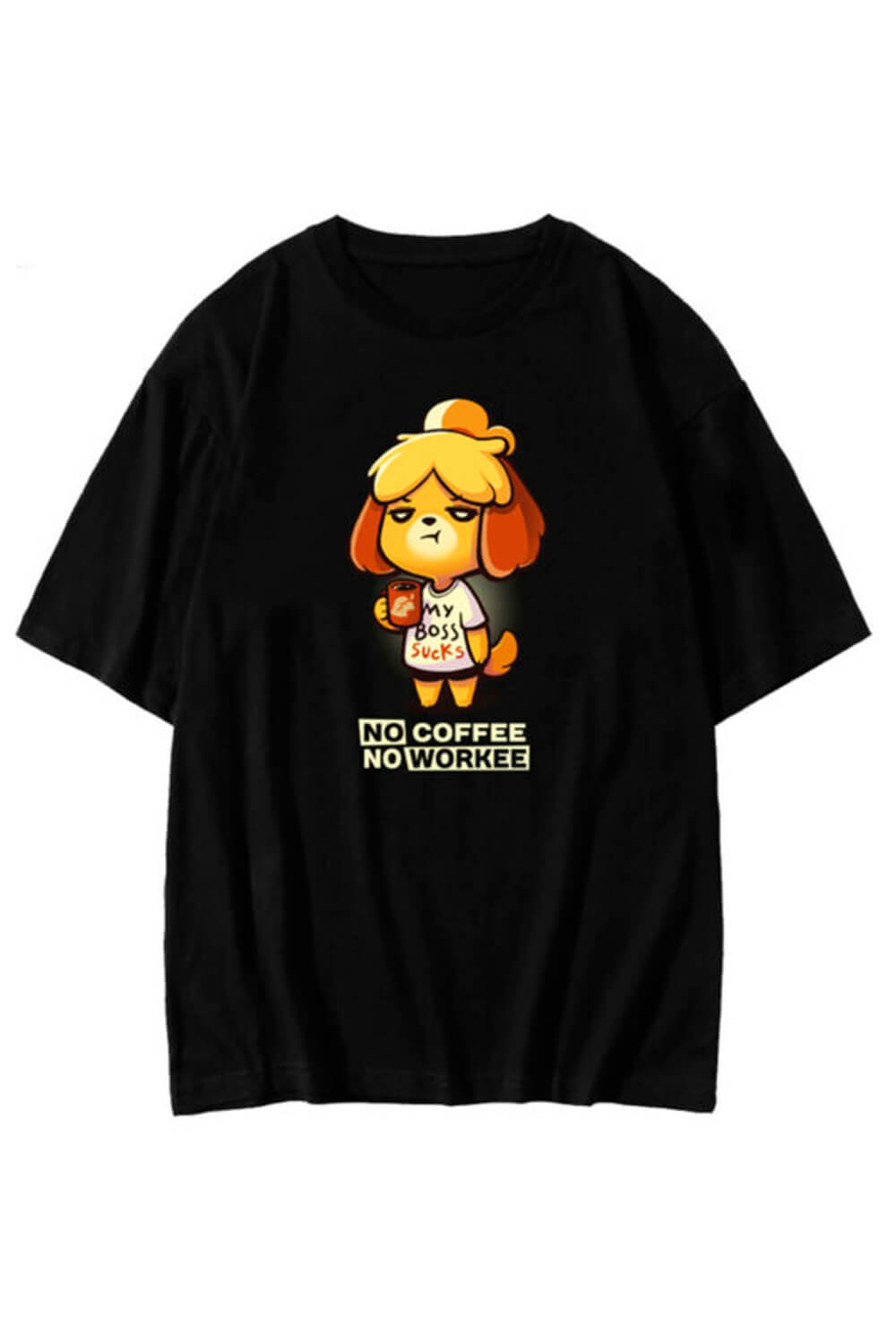 No Coffee No Workee Isabelle T-Shirt