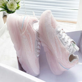 Transparent Sole Sportcore Running Shoes