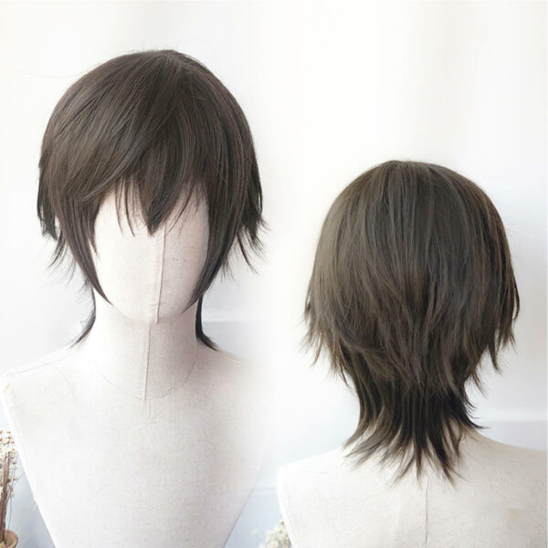 Wolf Tail Mullet Cosplay Aesthetic Wig