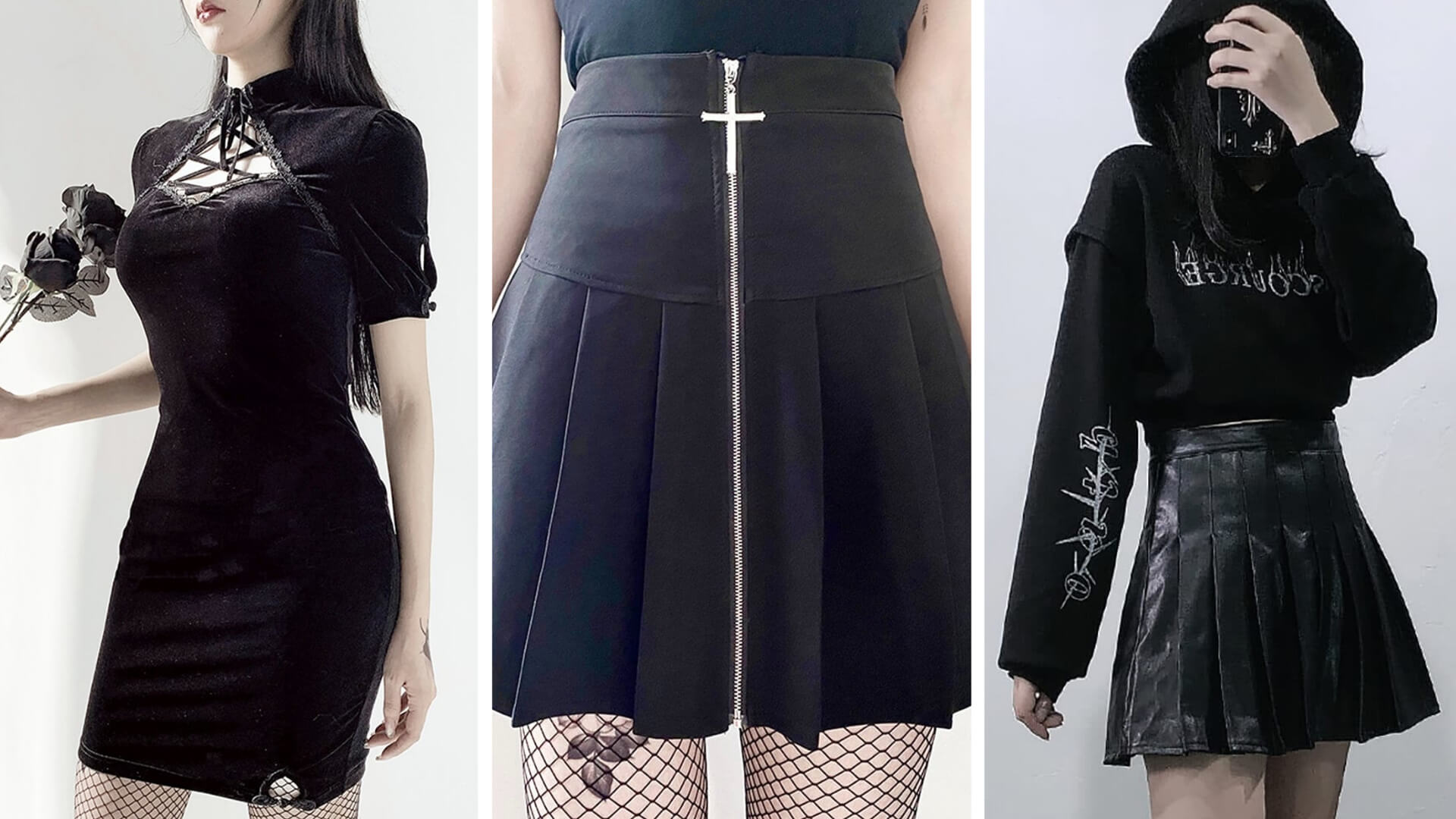 Witch Aesthetic Clothes - Witchcore - Outfits Types - Orezoria Blog