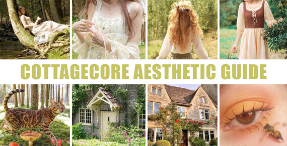 Small Thumbnail - What is Cottagecore Full Cottagecore Aesthetic Outfit Guide - Orezoria Aesthetic Clothing Blog