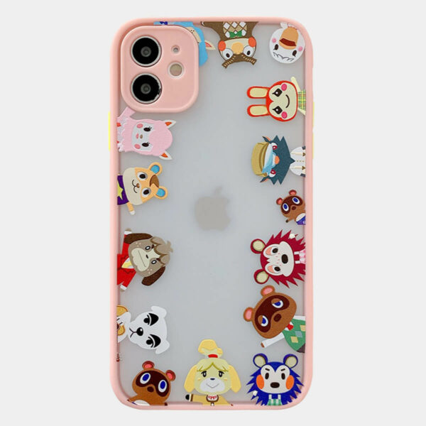 Animal Crossing Characters iPhone Case