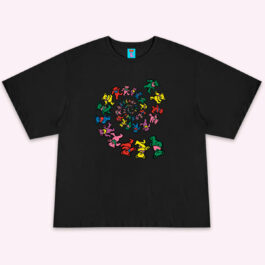 History of the Grateful Dead Bears T-Shirt