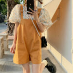 Summer Softie Jumpsuit With Puff Top