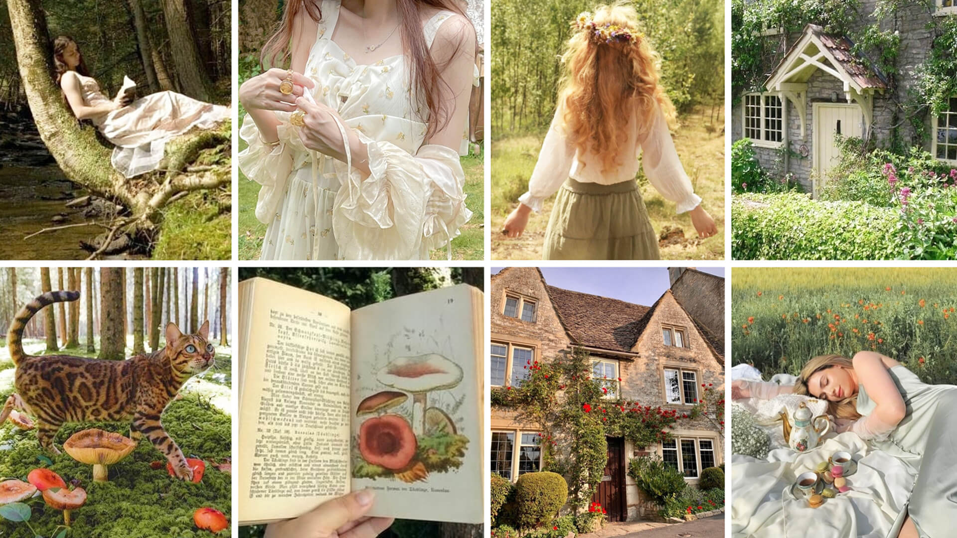 What is Cottagecore - Cottagecore Aesthetic Outfits Guide - Orezoria Aesthetic Blog