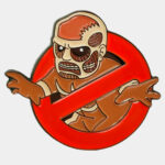 Attack on Titan Giant Busters Enamel Pin