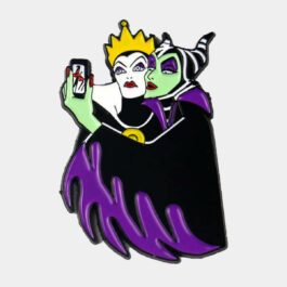 Maleficent and The Evil Queen Enamel Pin